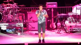 "Trevor Jackson ""In This Crowd"" opening act for Zendaya Live at LA County Fair"