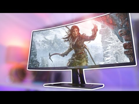 A MASSIVE 'HDR' Ultrawide Monitor - ViewSonic VP3881 Review!