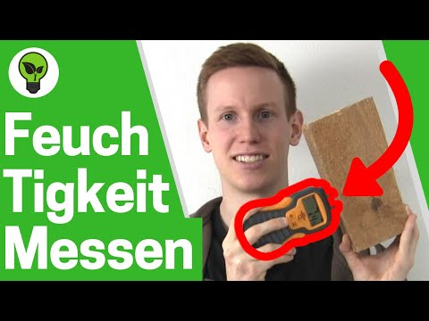 Feuchtigkeit messen Wand & Holz ✅ TOP ANLEITUNG: Feuchte Messgerät Brennenstuhl für Holzfeuchte!!!