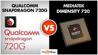 Mediatek Dimensity 720 vs Snapdragon 720G 🔥 | Which is better? | Snapdragon 720G vs Dimensity 720
