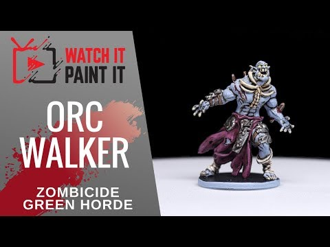 Zombicide Green Horde - Painting Orc Walker