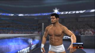 WWE '12 Cody Rhodes Updated Entrance [Video]