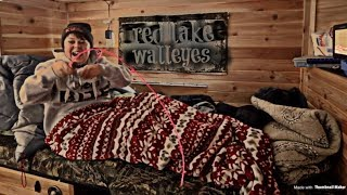 Red Lake Walleyes (FISHING IN BED)