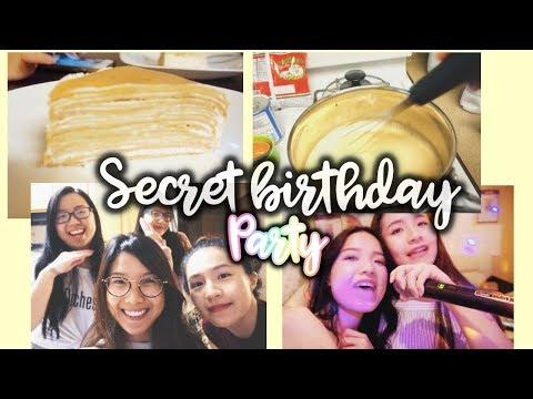 [VLOG] 🎂Hành Trình Bí Mật Làm Bánh Crepe Ngàn Lớp Mừng Sinh Nhật May | HPBD to May 🎉 | Diane Le