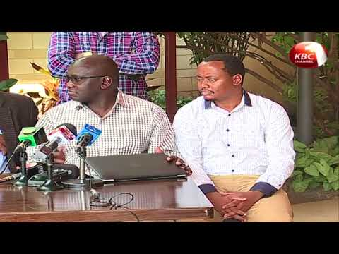 IEBC pleads with Uhuru Kenyatta and Raila Odinga to come to the negotiating table