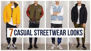 7 Casual Streetwear Outfits For Fall 2019 | Outfit Ideas | Men's Fashion Lookbook