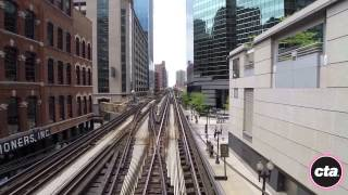 Chicago CTA Pink Line 'L' video. 