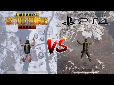 Pubg Mobile Vs Pubg PS4 (Comparison) Which One is Better? 2019