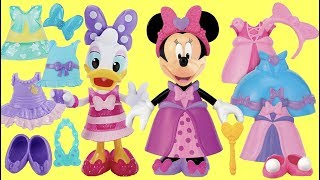 Minnie Mouse Helps Daisy Play Mix And Match Fashion Clothes