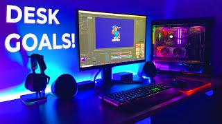 PC Gaming Desk SETUP Advice! The BEST Gaming Accessories & Peripherals 2020!