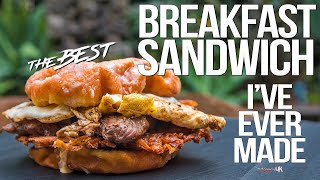 The Best Breakfast Sandwich Ive Ever Made | SAM THE COOKING GUY 4K