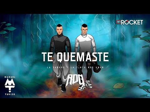 Te Quemaste - MTZ Manuel Turizo & Anuel AA   Video Letra