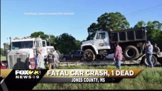Fatal car accident, 1 dead