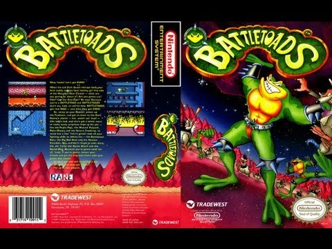 Battletoads NES Gameplay Longplay (Полное прохождение)