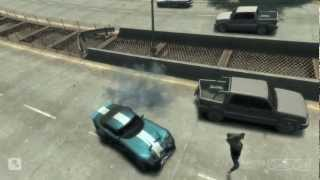 Gta IV: eXTREME STUNTS and fails...