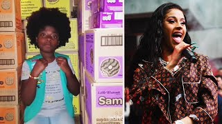 10-Year-Old Writes Cardi B Remix to Sell Girl Scout Cookies