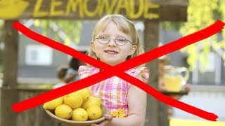 5 Year Old Girl FINED For Lemonade Stand - FACT or FICTION?