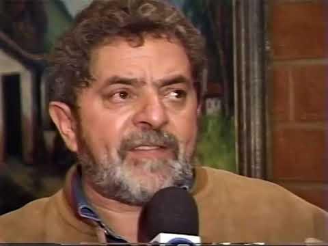 Guardião das águas  Marcos Rossi entrevista Lula
