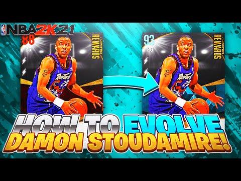 How to Evolve *FREE* Damon Stoudamire to Diamond Fast on NBA 2K21 MyTeam (Fastest & Easiest Method)