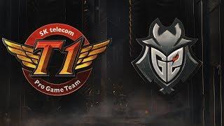 SKT vs G2 | Semifinals Game 2 | 2019 Mid-Season Invitational | SK telecom T1 vs. G2 Esports
