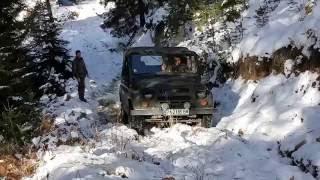 Лов с Руски джип(уаз) офроуд!Offroad Hunting! Russian uas offroad!