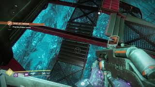 Destiny 2   Thief Of Thieves: Find & Scan The Fallen Cache, Alkine Dust Collected, Sentinal Gameplay