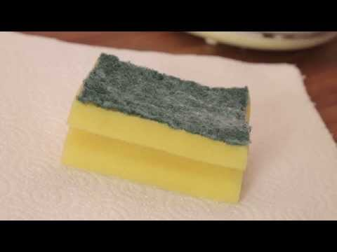 Cleaning a Sponge