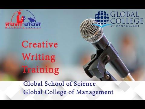 Creative Writing Training - YouTube