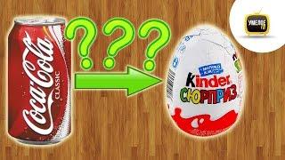 Смотреть онлайн Как сделать из Кока Колы киндер сюрприз