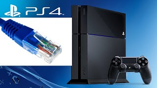 HOW TO FIX PS4 ETHERNET LAN CABLE NOT CONNECTING PS4 PRO SLIM PHAT