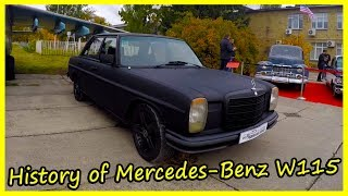 Tuned Germany Cars of the 70s and 80s. History of Mercedes-Benz W115