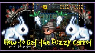 Terraria Xbox/Playstation | How To Get The Fuzzy Carrot | Bunny Mount