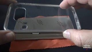 Samsung Galaxy S6 S7 Edge Back Cover Schutzhülle Hülle Slim Case Slim Cover  NEO HYBRID CC