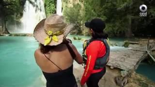 Detrás de un click - Cascada de Tamul, La huasteca: San Luis Potosí