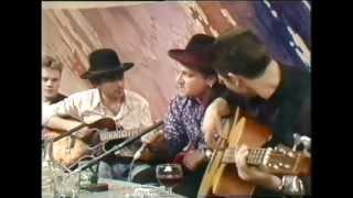 U2 - Happy XMas (War Is Over) /live/ - RTE Studios 'Late Late Show', Dublin, Ireland 16.12.1988