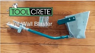 Stucco Sprayer 4 Jet Wall Blaster Feature Video