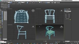 Easy modeling sketchup to max