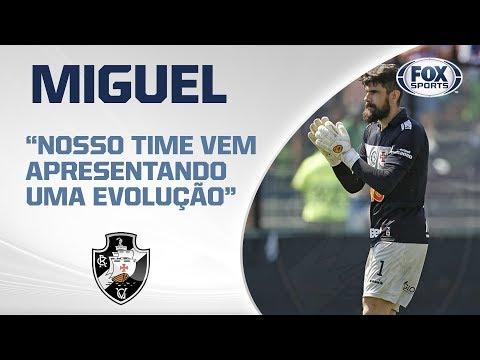 VASCO AO VIVO! Fernando Miguel projeta duelo entre o Gigante da Colina e Chapecoense no Brasileirão