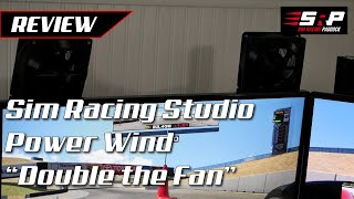 """Sim Racing Studio Power Wind """"Double The Fan"""" - Unboxing and Test Drive/Review"""