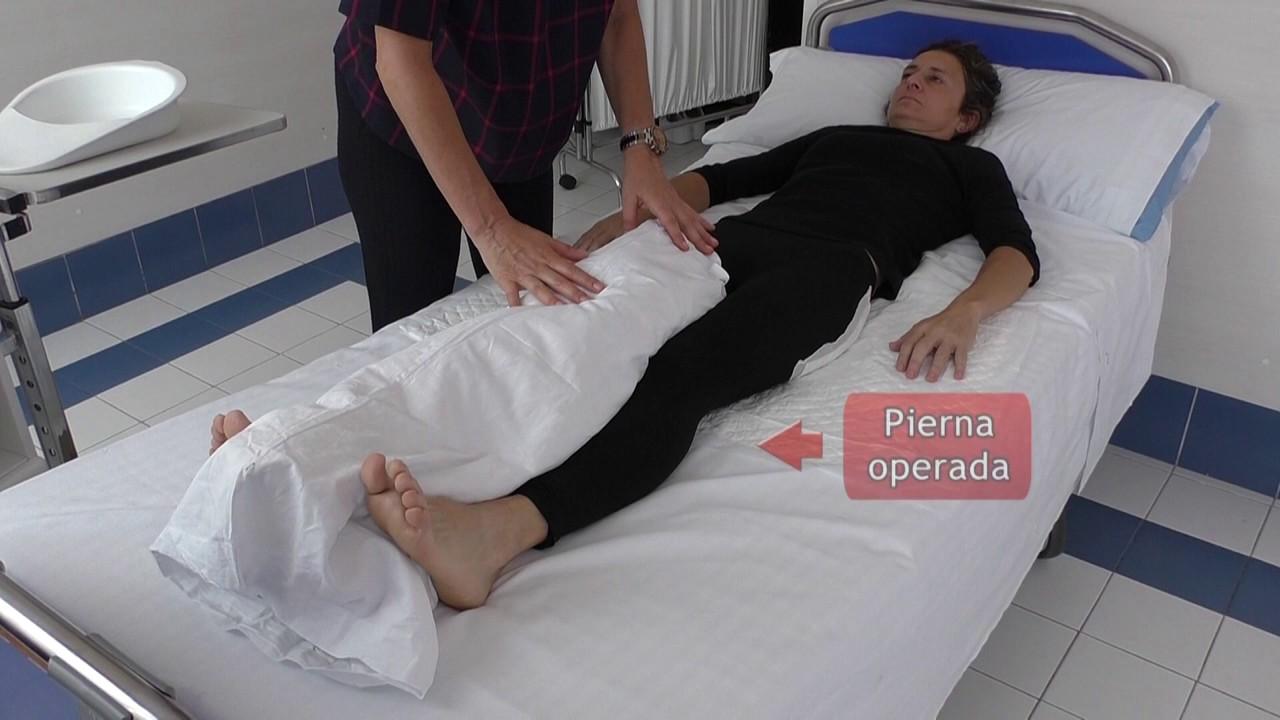 Vídeo sobre Escuela de cadera. Colocación de cuña.