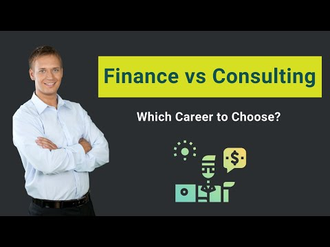 , title : 'Finance vs Consulting | Which Career to Choose?