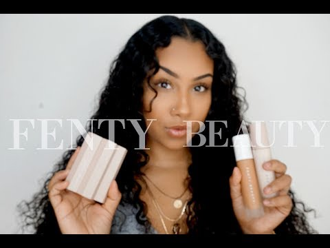 FENTY BEAUTY BY RIHANNA Every Day Make-up Tutorial / Review | TheAnayal8ter