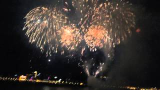 """Australia Fireworks with music """"Time to say goodbye""""- Macao Fireworks Competitions"""