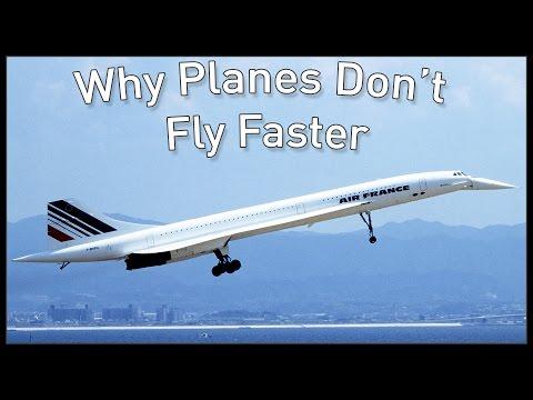 Proč letadla nelétají rychleji?
