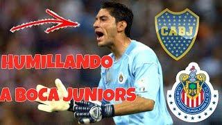 El Dia Que Jesus Corona Jugó Para CHIVAS y HUMILLÓ A Boca Juniors