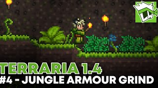 Terraria 1.4 - Part 4 - Goblin Tinkerer, Hermes Boots + Jungle Armour Grind!