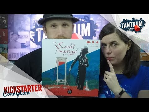 Scarlet Pimpernel - a Tantrum House Preview