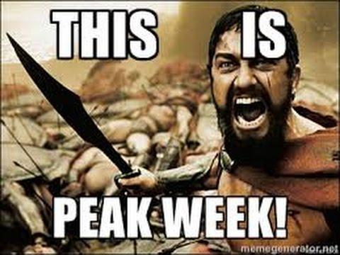 Built by Science #17 - Peak Week BroScience!