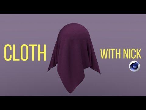 Tutorial Dynamic Cloth (C4D) - смотреть онлайн на Hah Life