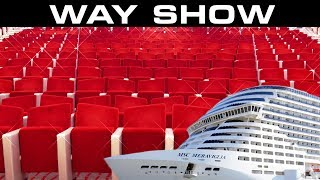 "Final ""WAY Show"" sur le MSC MERAVIGLIA ... TOP !!!"